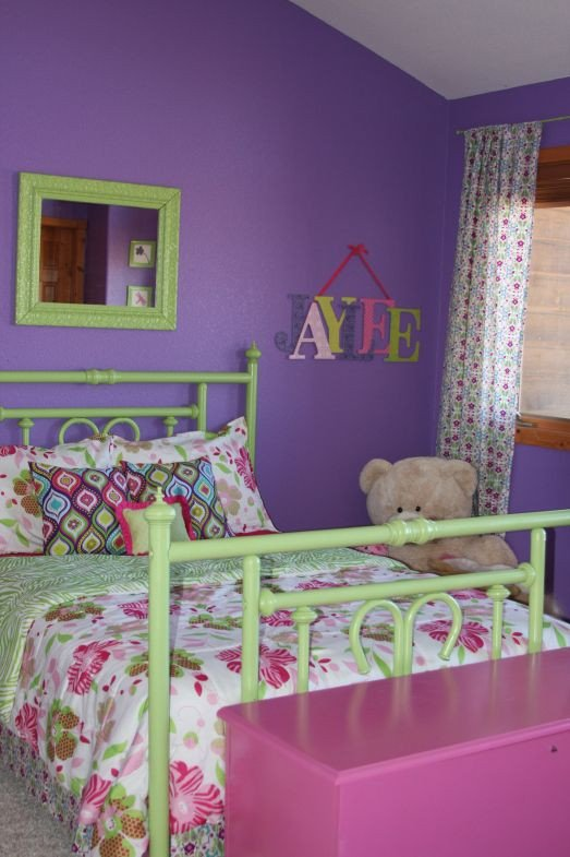 Pink and Purple Room Decor Elegant Purple Green and Pink the Blog
