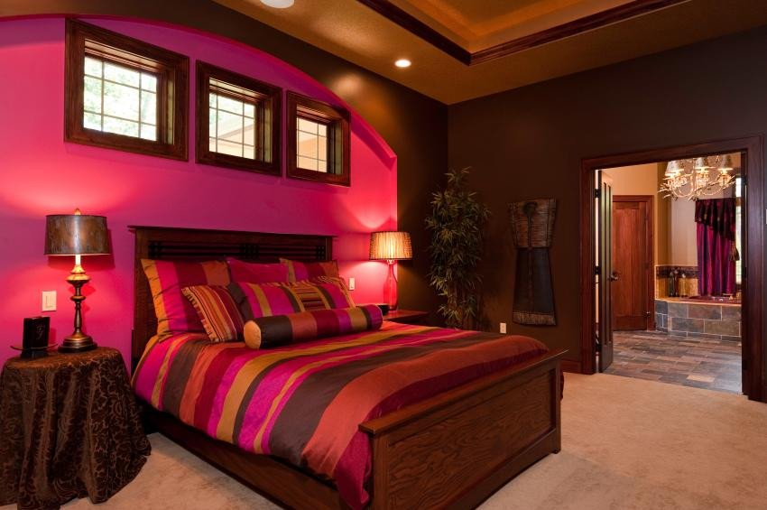 Pink and Purple Room Decor Fresh Of Master Bedroom and Bathroom Designs [slideshow]