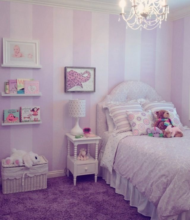 Pink and Purple Room Decor Luxury 25 Best Ideas About Purple Striped Walls On Pinterest