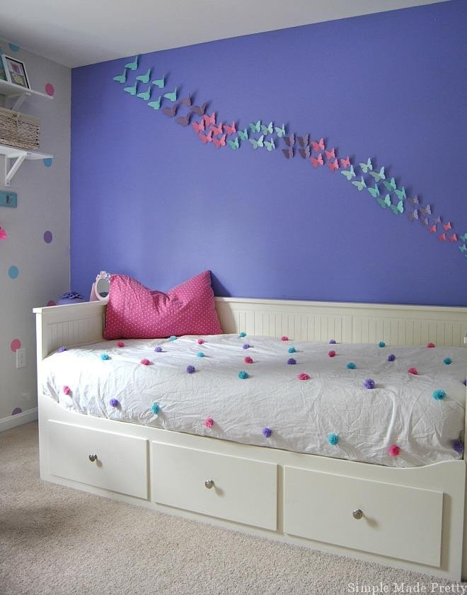 Pink and Purple Room Decor Unique Girls Bedroom Home Decor that You Can Diy On A Bud Simple Made Pretty