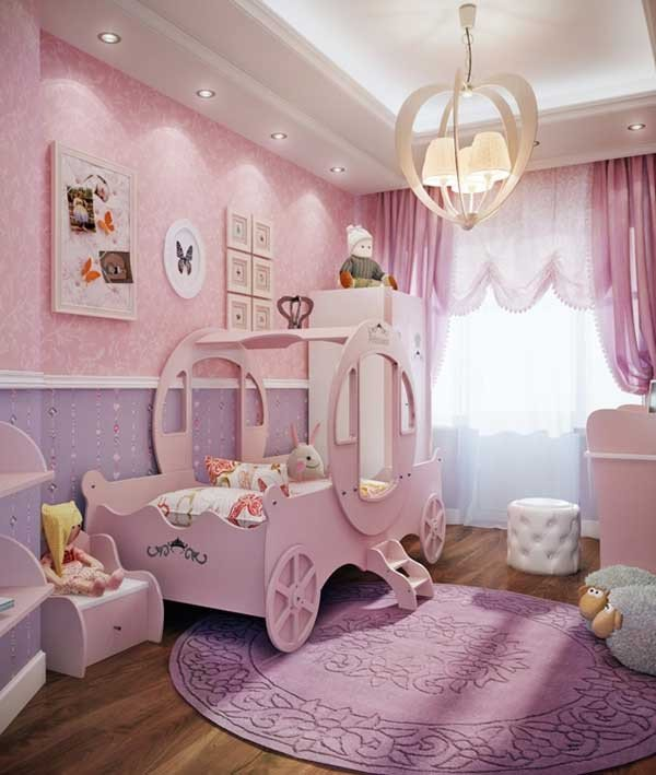Pink and Purple Room Decor Unique top 19 Fantastic Fairy Tale Bedroom Ideas for Little Girls