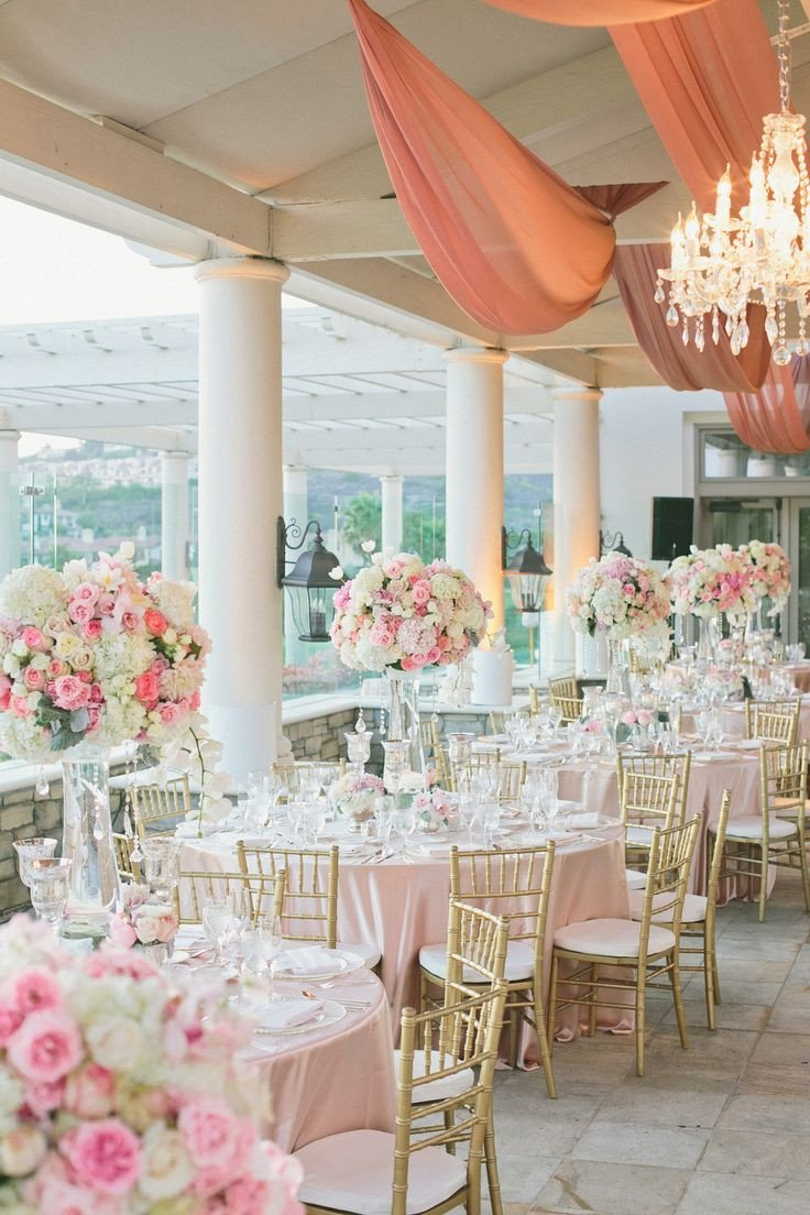 Pink and White Wedding Decor Awesome Romantic Pink White Wedding at St Regis Monarch Beach Weddings Blush & Pinks