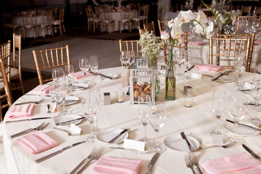 Sweet Pink Wedding Reception in Arlington Jaina James United With Love