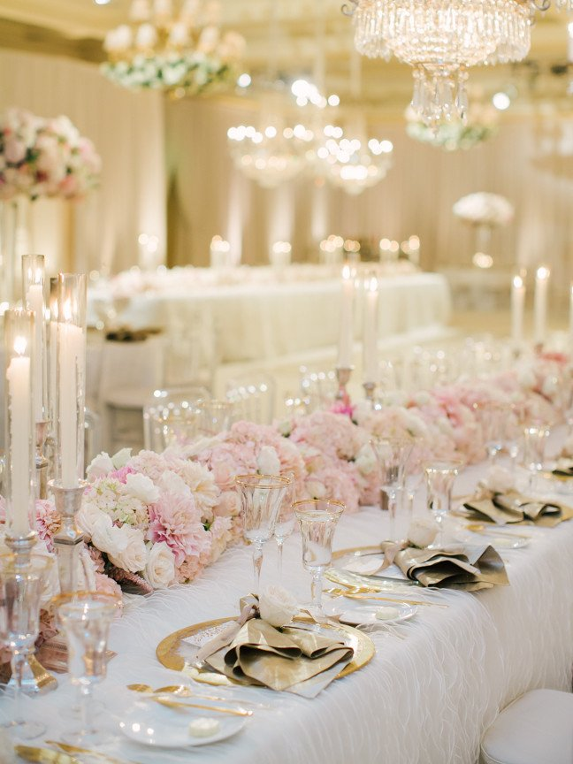 Pink and White Wedding Decor Lovely Wedding Color Palette Pink and Gold Wedding Ideas Inside Weddings