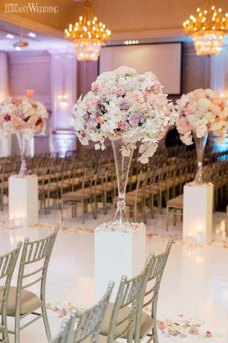 Pink and White Wedding Decor Unique Beautiful Pink and Purple Wedding