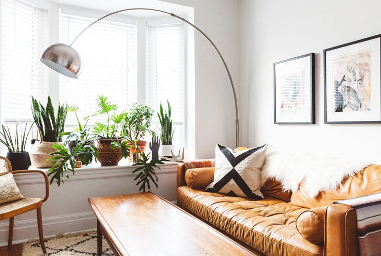 Plant Stand Ideas to Fill Your Living Room Elegant 15 Plant Filled Living Rooms for Serious Decor Inspiration