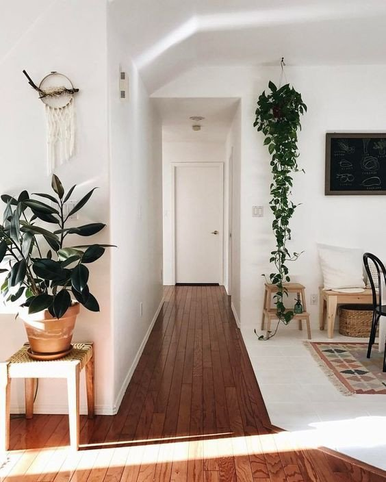 Plant Stand Ideas to Fill Your Living Room Fresh Hanging Plant and Floor Standing Plant In A Scandi Inspired Living Room Beautiful Example Of