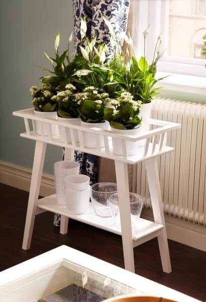 Plant Stand Ideas to Fill Your Living Room Lovely Reach for some Sun with Lantliv Plant Stands Greening Pinterest