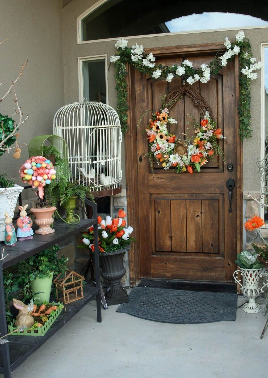 Porch Decor Ideas for Spring Awesome 23 Best Easter Porch Decor Ideas and Designs for 2017