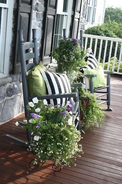 Porch Decor Ideas for Spring Beautiful How to Spruce Up Your Porch for Spring 31 Ideas Digsdigs