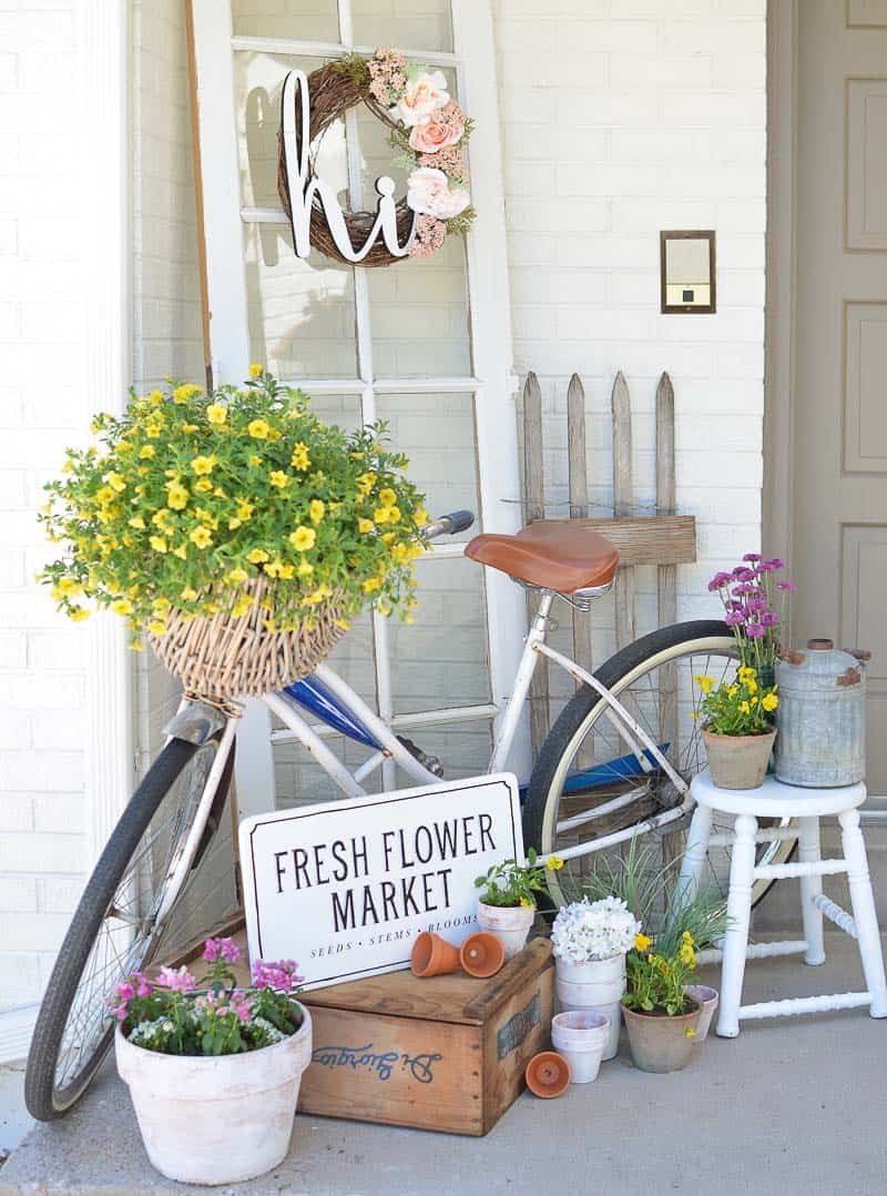 Porch Decor Ideas for Spring Elegant 30 Inspiring Ideas to Freshen Up Your Front Porch for Spring