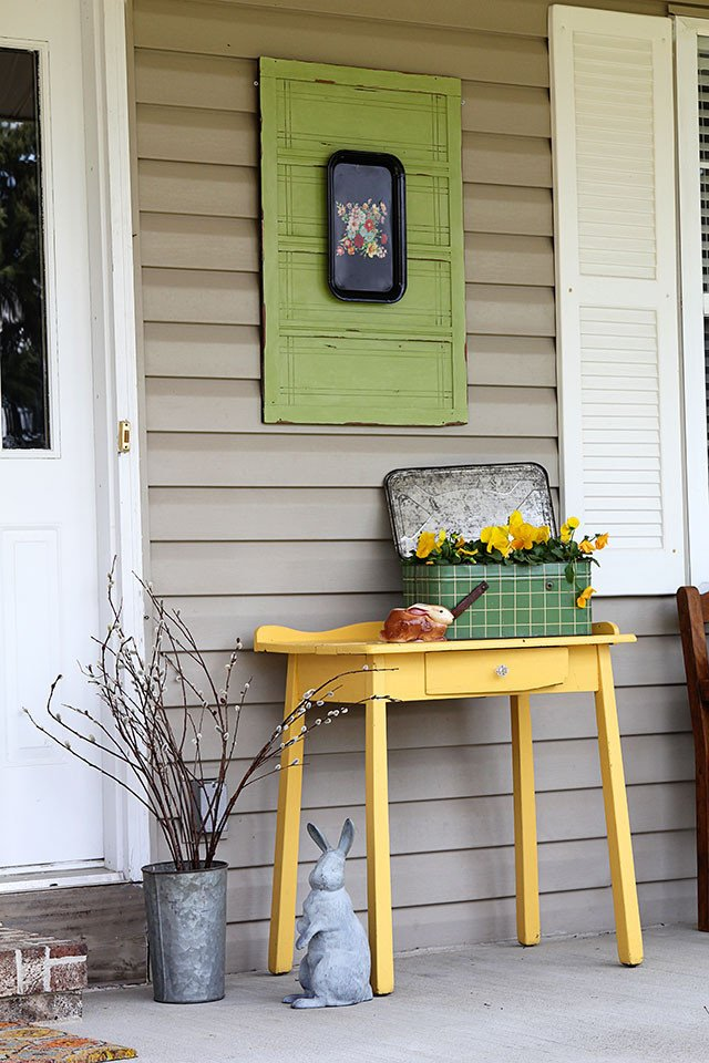 Porch Decor Ideas for Spring Inspirational Colorful Spring Front Porch House Of Hawthornes