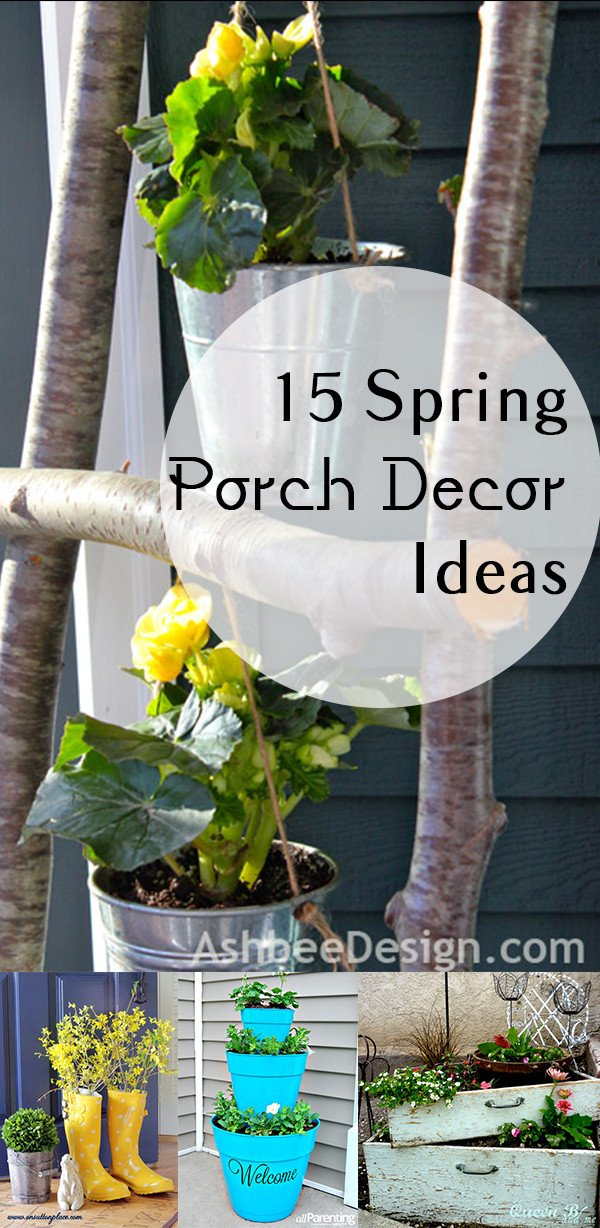 Porch Decor Ideas for Spring Luxury 15 Spring Porch Decor Ideas