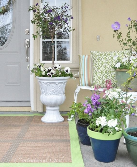 Porch Decor Ideas for Spring Luxury How to Spruce Up Your Porch for Spring 31 Ideas