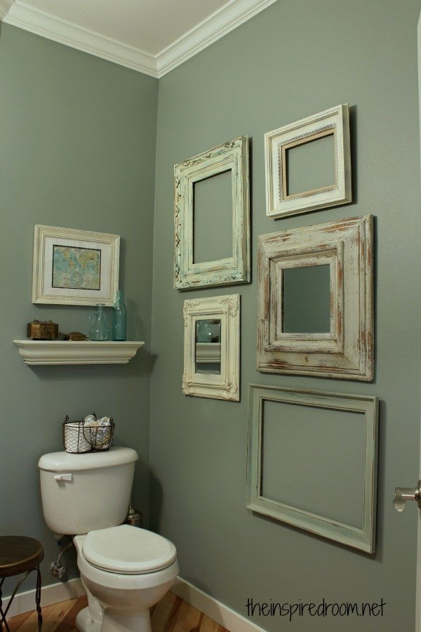 Powder Room Take Two 2nd Bud Makeover REVEAL  The Inspired Room