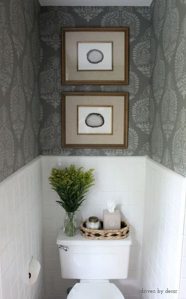 Powder Room Wall Decor Ideas Elegant Hometalk