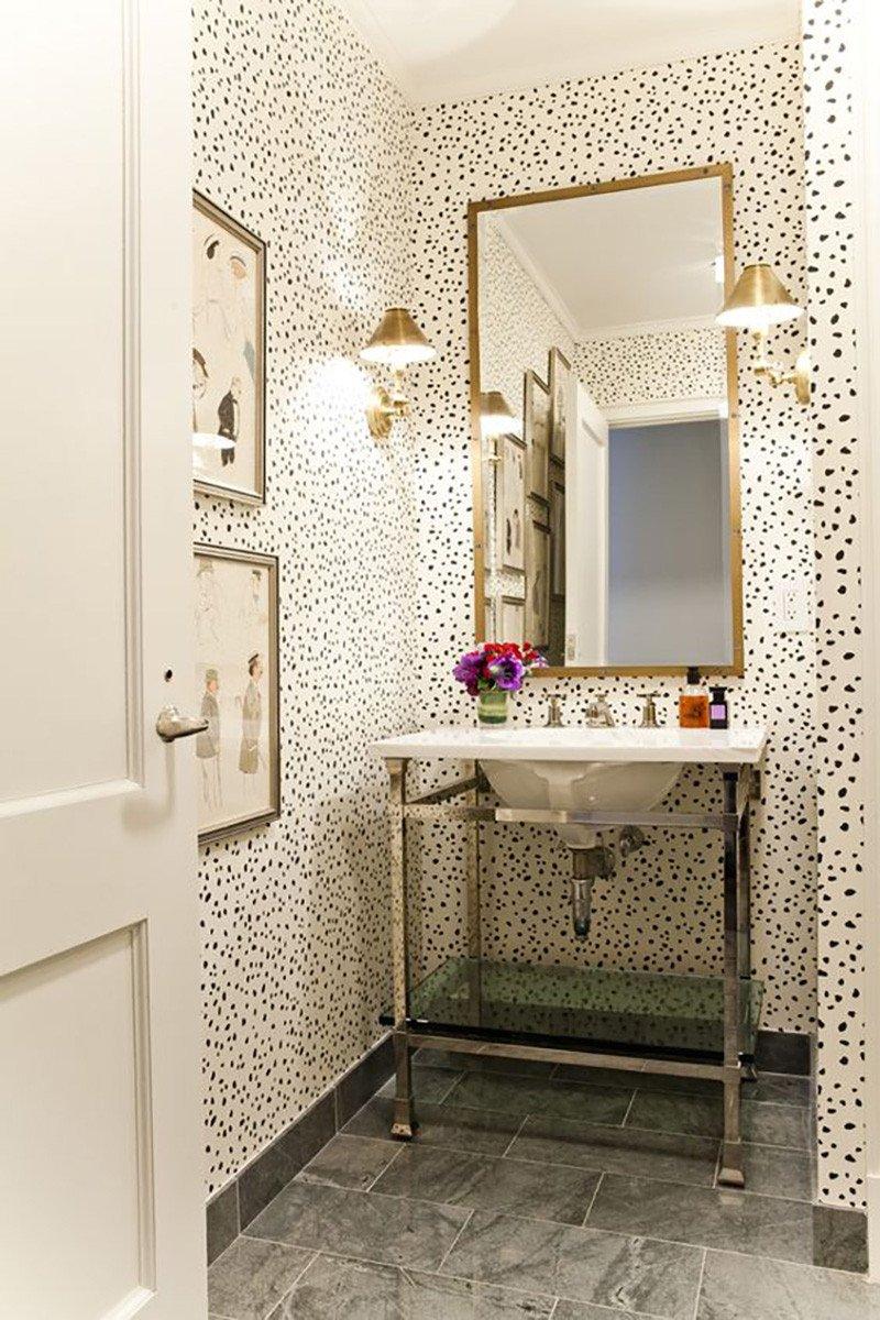 Powder Room Wall Decor Ideas Fresh Small Powder Room Ideas – Amber Interiors