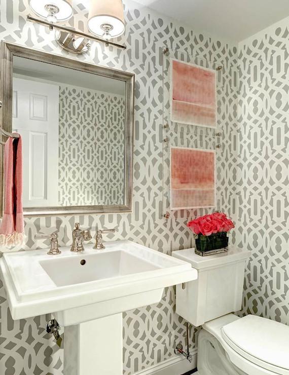 Powder Room Wall Decor Ideas New 20 Practical & Pretty Powder Room Decorating Ideas
