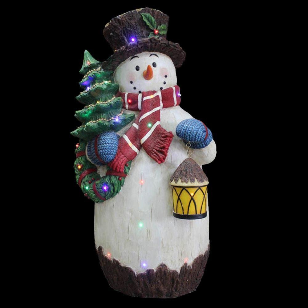 Pre Lit Snowman Outdoor Decor Best Of National Tree Pany 36 In Pre Lit Snowman Decoration Bg A the Home Depot