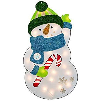 "Pre Lit Snowman Outdoor Decor Elegant Amazon 30"" Pre Lit Snowman Yard Art T Lighted Christmas Lawn Decor Outdoor Indoor"