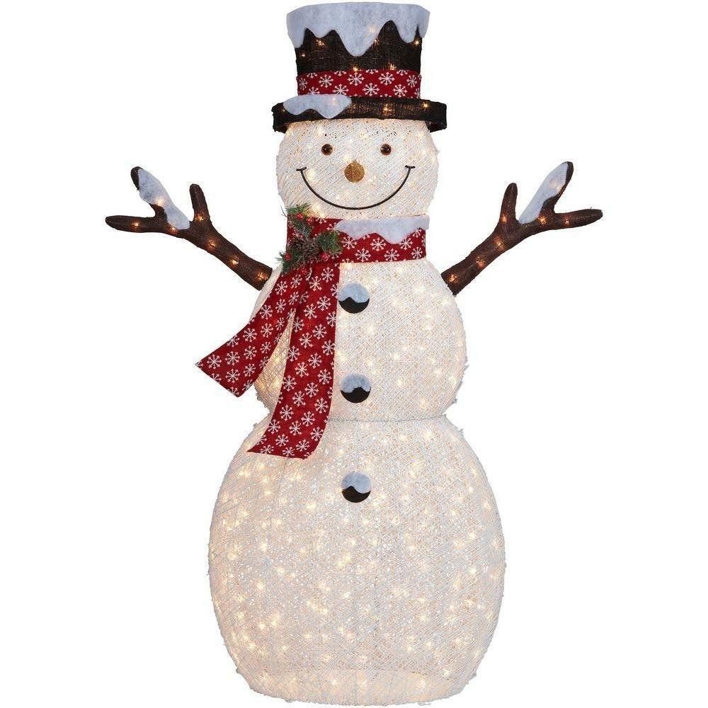 Pre Lit Snowman Outdoor Decor Lovely New 6 Ft Pre Lit Big Snowman Christmas Lawn Yard Decoration Outdoor Lights Snow