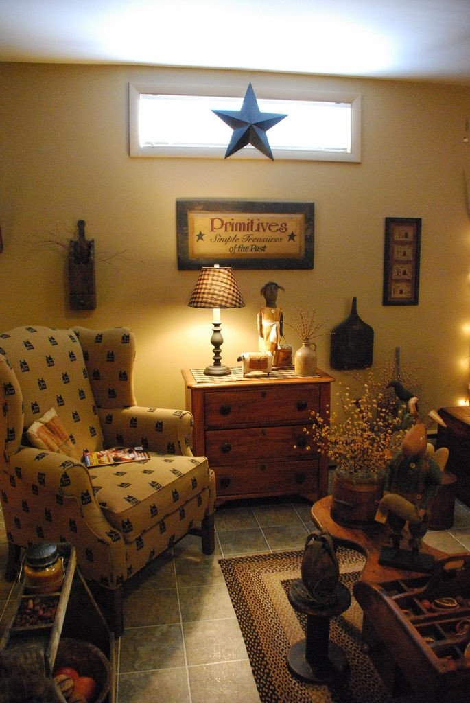 Primitive Small Living Room Ideas Inspirational 17 Best Primitive Living Rooms Images On Pinterest