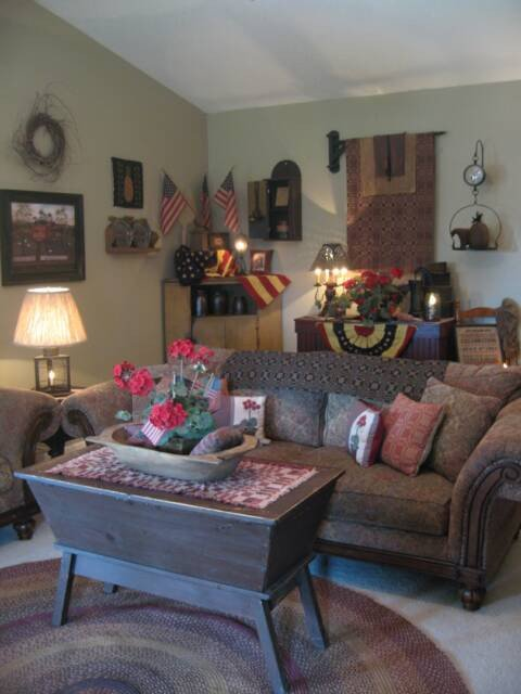 Primitive Small Living Room Ideas Luxury A Primitive Place Primitive & Colonial Inpired Living Rooms