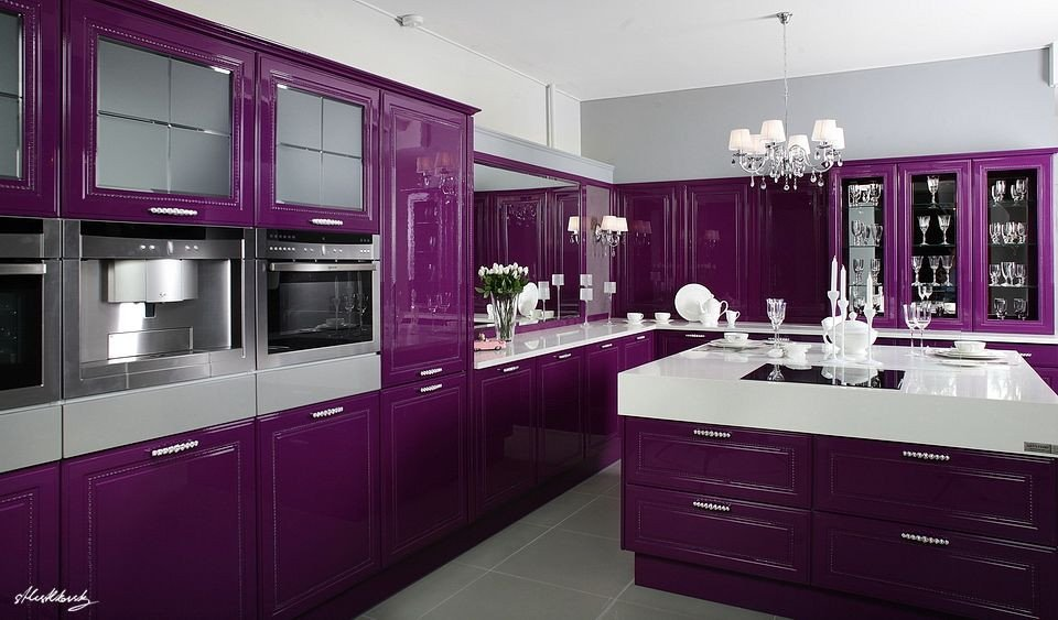 Purple and Black Kitchen Decor Fresh Pin On Kitchens We Re Obsessed with
