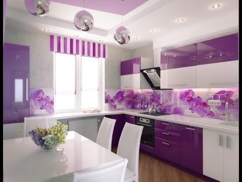 Purple and Black Kitchen Decor Fresh Purple Kitchen Cabinets Purple Kitchen 10