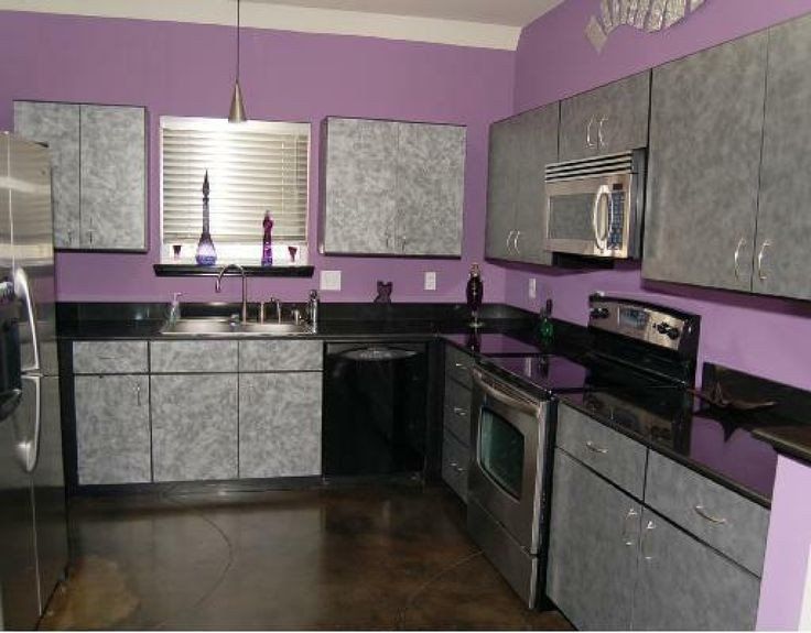 Purple and Black Kitchen Decor Lovely Pretty Purple Kitchen Home Decoration Kbhome Kitchen
