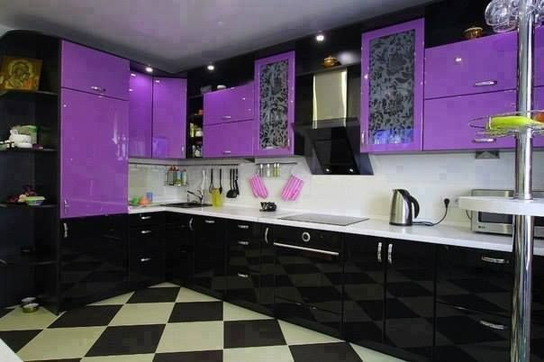 Purple and Black Kitchen Decor Unique Purple and Black Kitchen for the Home In 2019
