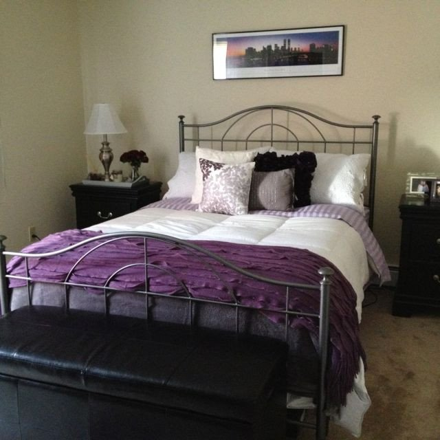 Purple and Grey Bedroom Decor Awesome 1000 Images About Purple Grey Bedroom On Pinterest
