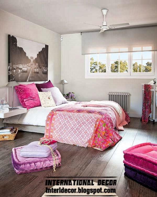 Purple and Grey Bedroom Decor Elegant Modern House In Purple and Grey Interior Design