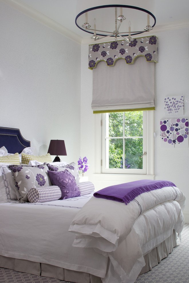 Purple and Grey Bedroom Decor Fresh Cool Purple and White Rooms
