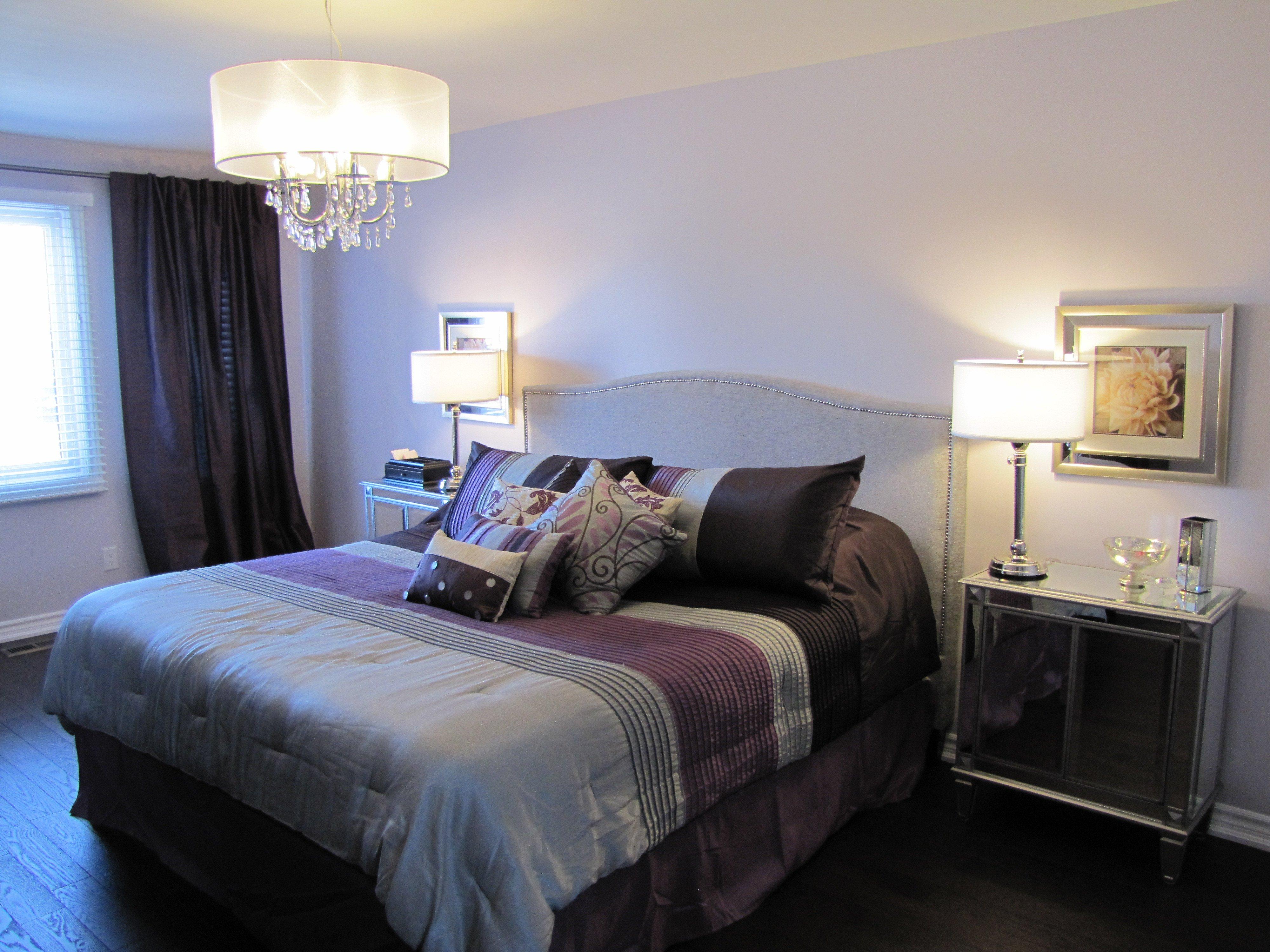 Purple and Grey Bedroom Decor Inspirational January 2012