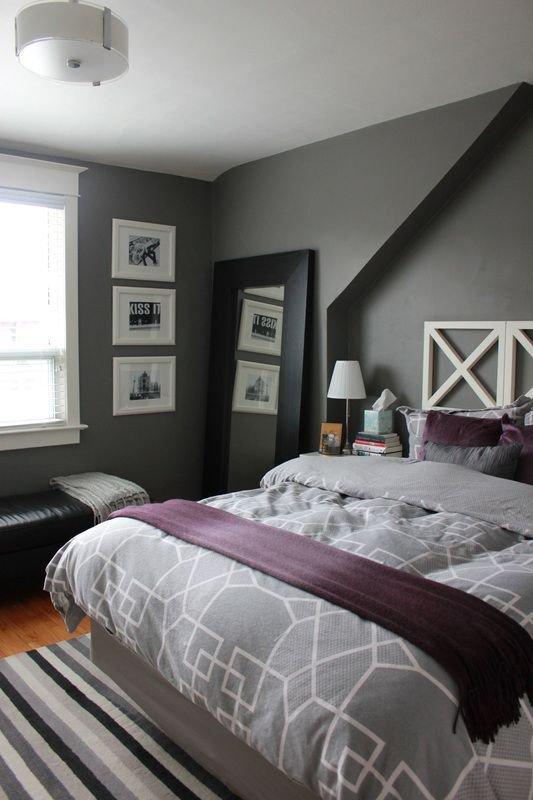 Purple and Grey Bedroom Decor New 50 Best Gray with Purple Undertones Room Images On Pinterest