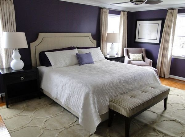 Purple Wall Decor for Bedrooms New How to Decorate A Bedroom with Purple Walls