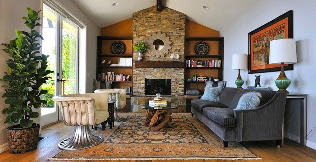 Ranch House Living Room Decorating Ideas Elegant Malibu Rustic Modern Ranch House Rustic Living Room Los Angeles by Susan Deneau