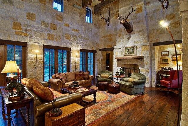 Ranch House Living Room Decorating Ideas Fresh Hill Country Ranch Living Room Traditional Living Room Austin by Amanda Still Hill