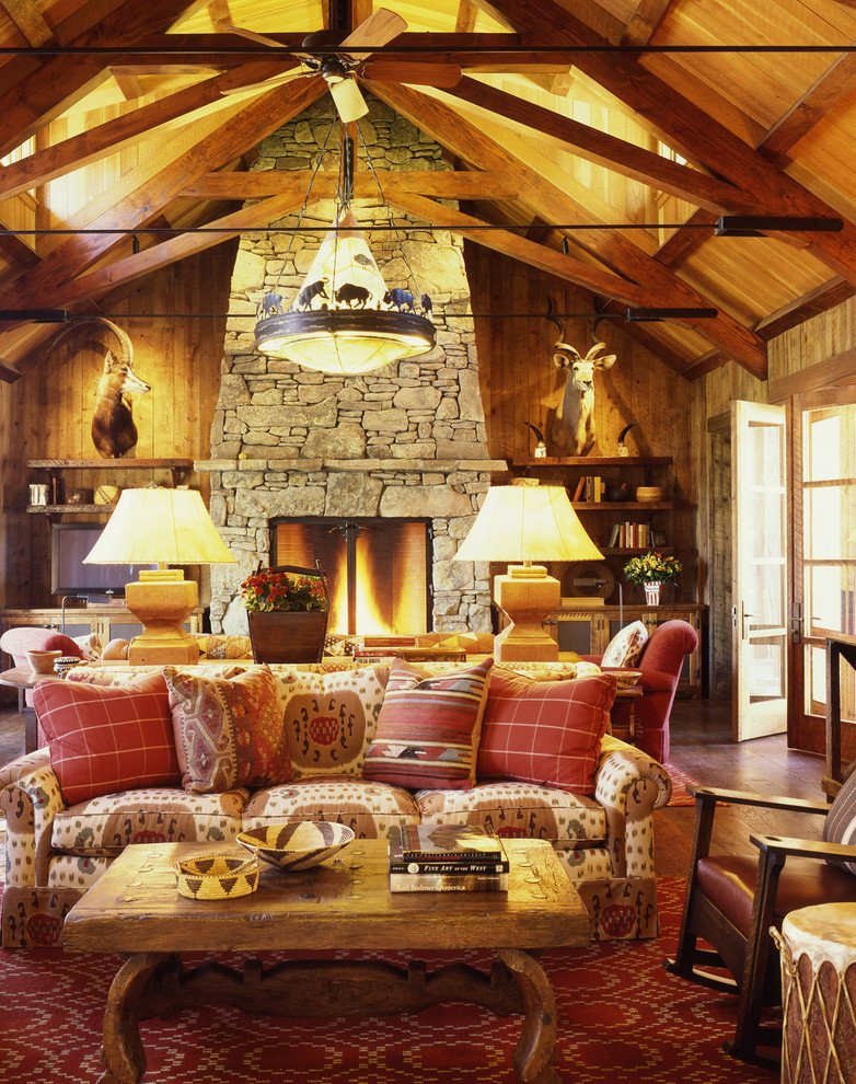 Ranch House Living Room Decorating Ideas Inspirational Get Cozy A Rustic Lodge Style Living Room Makeover Betterdecoratingbiblebetterdecoratingbible
