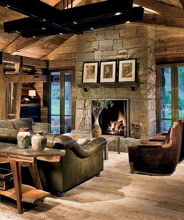 Ranch Style Living Room Ideas Awesome 47 Extremely Cozy and Rustic Cabin Style Living Rooms