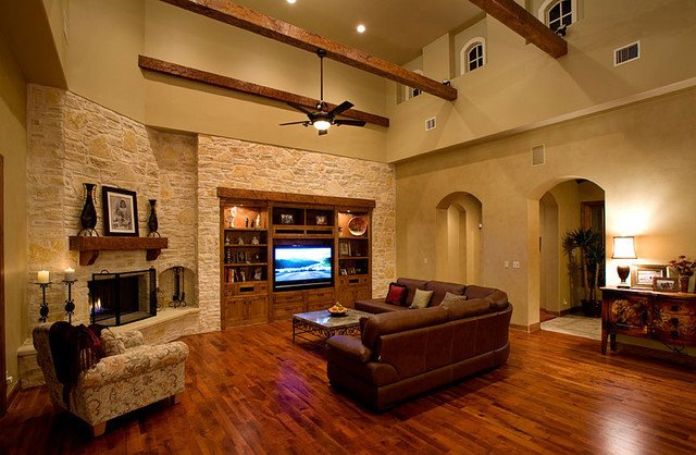 Ranch Style Living Room Ideas Best Of Sprawling Tuscan Ranch Mediterranean Living Room Other Metro by Eppright Custom Homes