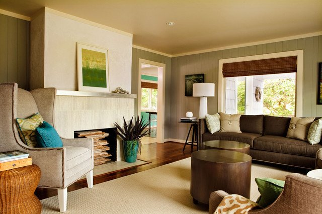 Ranch Style Living Room Ideas Elegant Seahound Ranch Beach Style Living Room Portland by Garrison Hullinger Interior Design Inc