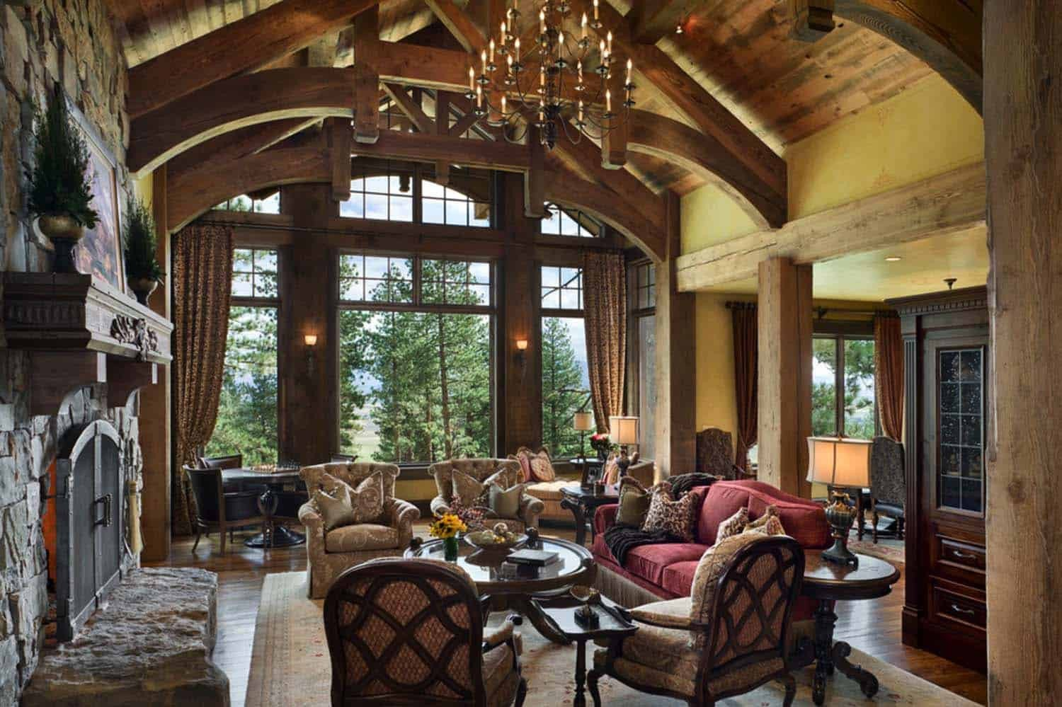 Ranch Style Living Room Ideas Lovely Fabulous Rustic Ranch Home In Nevada by Locati Architects