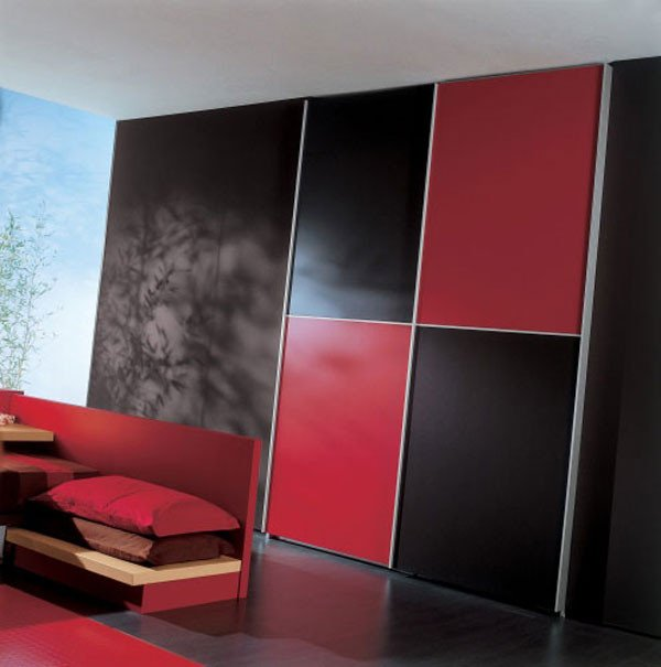 Red and Black Bedroom Decor Awesome Elegant Black and Red Bedroom