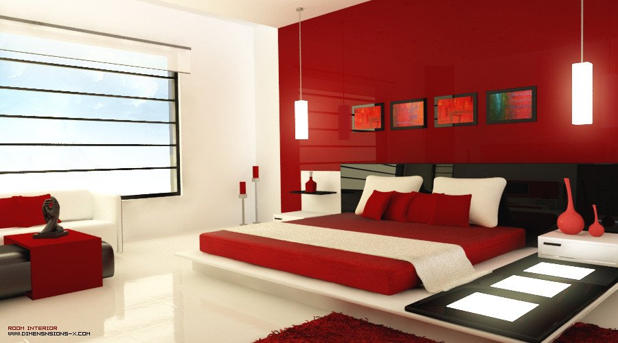 Red and Black Bedroom Decor Fresh Red Bedrooms