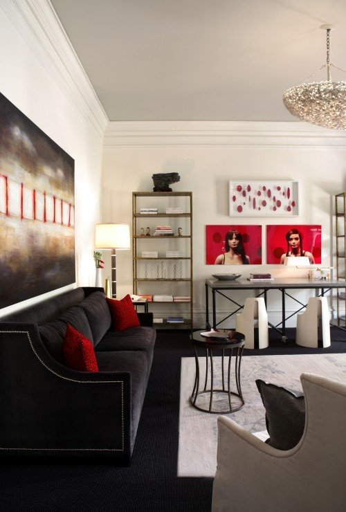 Red and Black Home Decor Beautiful 100 Best Red Living Rooms Interior Design Ideas