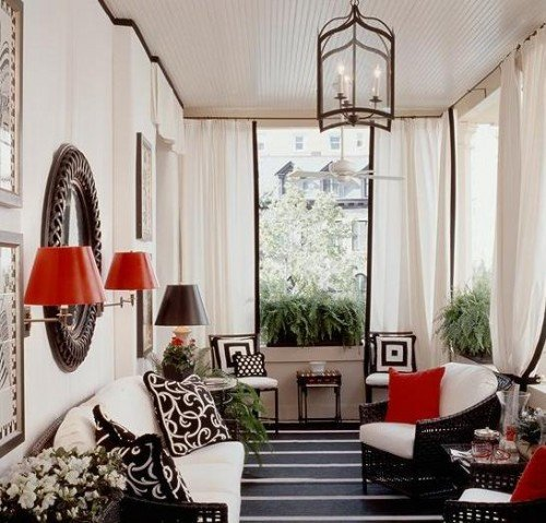 Red and Black Home Decor New Get Ready to Relax In Bright and New Porch with the Best Porch Decorating Ideas Home Design