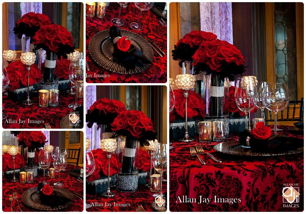 Red and Black Table Decor Fresh Maia S Wedding On Pinterest