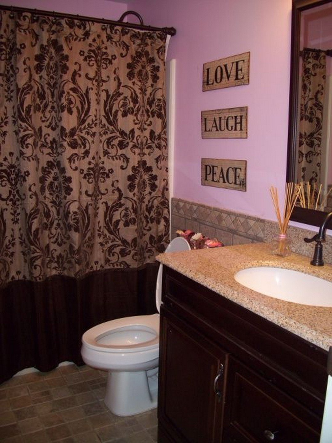 Red and Brown Bathroom Decor Lovely Pink and Brown Perfect Bination Of Bathroom Designs You Should Copy Goodnewsarchitecture